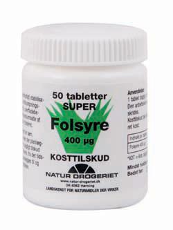 Natur-Drogeriet Folsyre