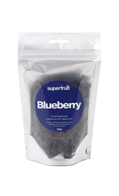 SuperFruit Tørrede Blåbær