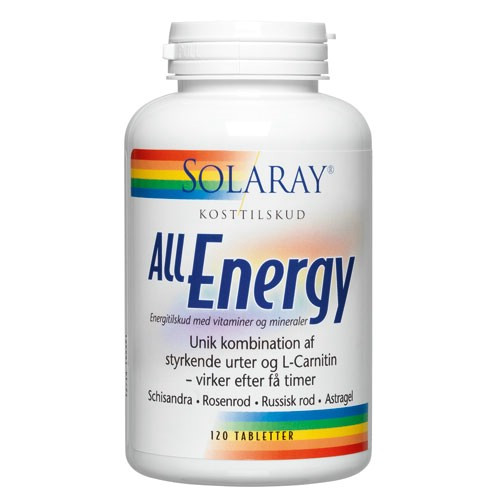 Solaray All Energy • 120 kaps.