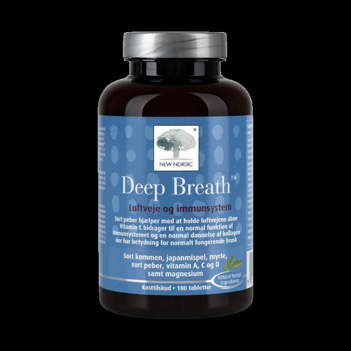 New Nordic Deep Breath™-180 tabletter
