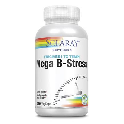 Solaray Mega B-Stress • 250 kapsler