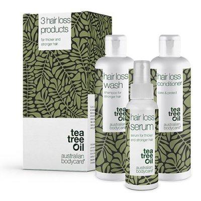 Australian Bodycare 3 Hair Loss products