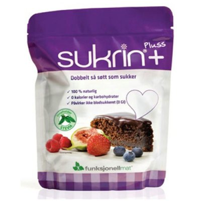 Sukrin+ m. Stevia • 250 g.
