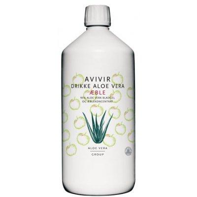 Avivir Aloe Vera Drik m. æble • 1 L