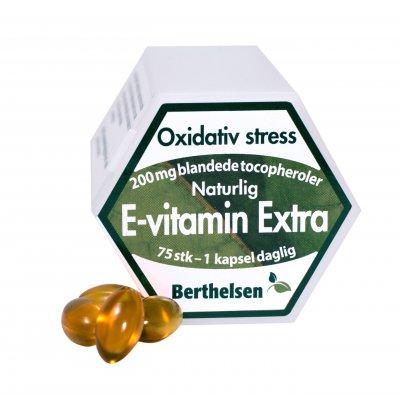 DFI Bethelsen E-vitamin Extra 200 mg 75 kapsler