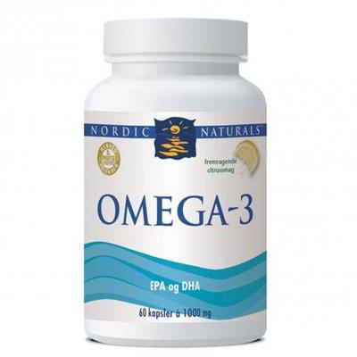 Nordic Naturals Omega 3 kapsler m. citrussmag 60 kaps.