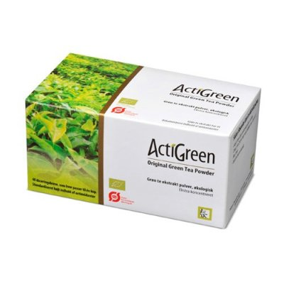 ActiGreen Grøn te pulver Ø • 40 breve