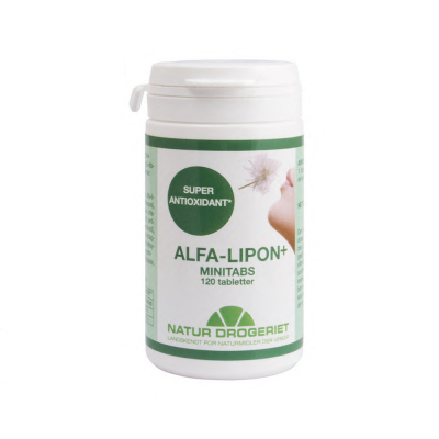 ND Alfa-lipon+ minitabs • 120 tab.