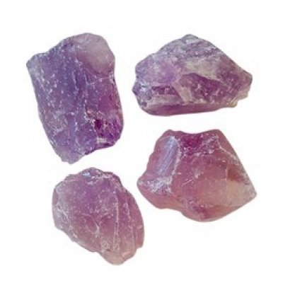 NatureSource Ametyst krystal (rå) • 600g.