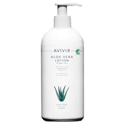 Avivir Aloe Vera Lotion 90% m. pumpe • 500 ml.