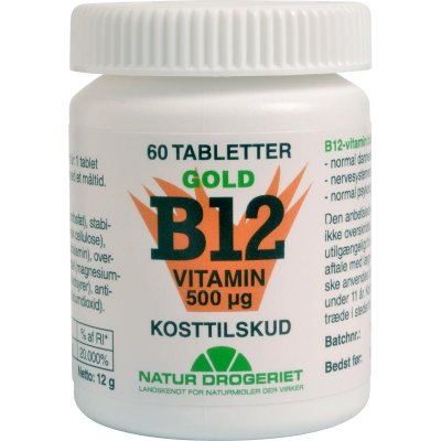 ND B12 gold vitamin 500 ug • 60 tabletter