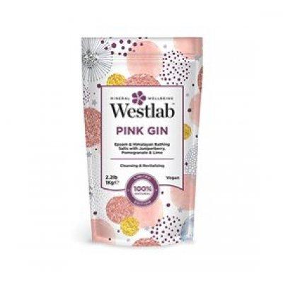 Westlab Badesalt Pink Gin • 1 kg.