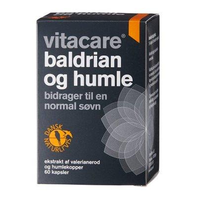 Vitacare Baldrian og Humle • 60 tab.