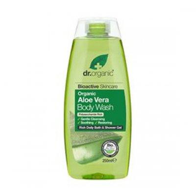 Dr. Organic Bath & Shower Aloe Vera • 250ml.