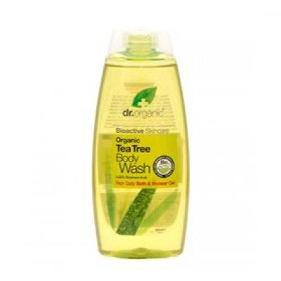 Dr. Organic Bath & Shower Tea Tree • 250 ml.