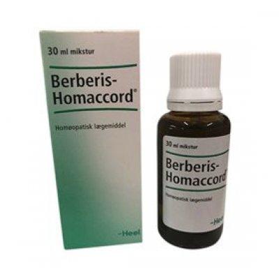 Biovita Berberis Homaccord • 30ml.