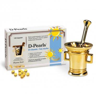 Pharma Nord D-Pearls 20 mg • 120 kaps.
