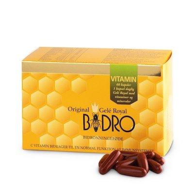 Bidro Vitaminer og mineraler • 60 kap.