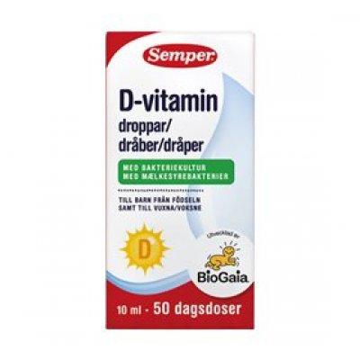 Semper BioGaia D-vitamindråber • 10ml.