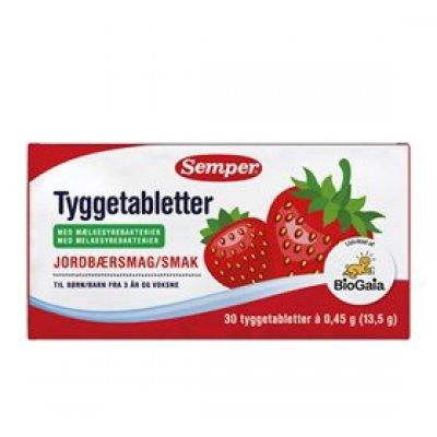 Semper BioGaia tyggetabletter • 30 stk
