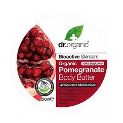 Dr. Organic Body Butter Pomegranate • 200ml.