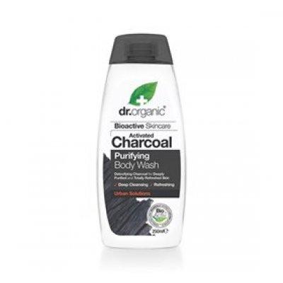Dr. Organic Body Wash Charcoal Purifying • 250 ml.