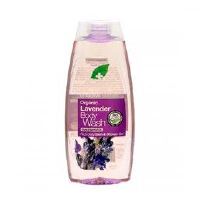 Dr. Organic Body wash Lavender • 250ml.