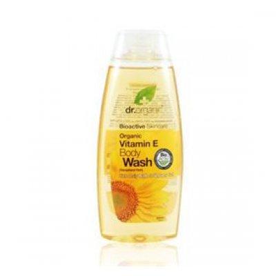 Dr. Organic Body wash Vitamin E • 250 ml.