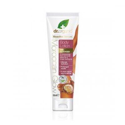 Dr. Organic Bodylotion tan extender Moroccan Glow • 150ml.