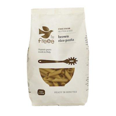 NatureSource Brun ris pasta penne gl.fri Ø • 500g.