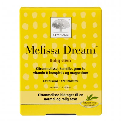 New Nordic Melissa Dream • 120 tabl.