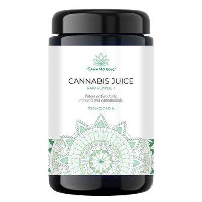 Sananordic Cannabis juice Raw Powder 30g