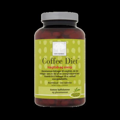 New Nordic Coffee Diet 360 stk. - Datovare