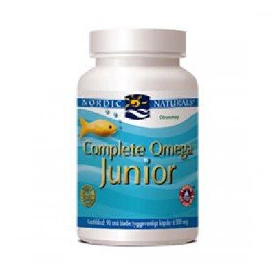 Nordic Naturals Complete Omega Junior m.citrussmag • 90 kap.