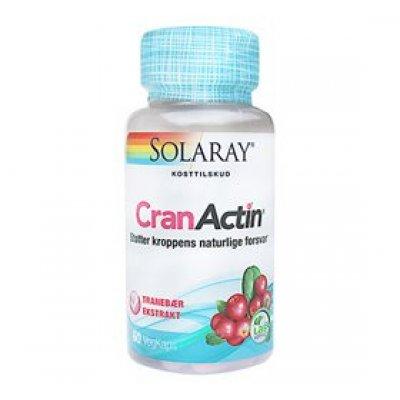 Solaray CranActin Tranebærekstrakt • 60 kap.