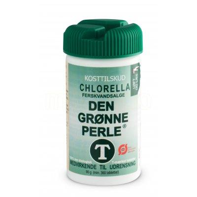 Chlorella - Den Grønne Perle 360 tabl.