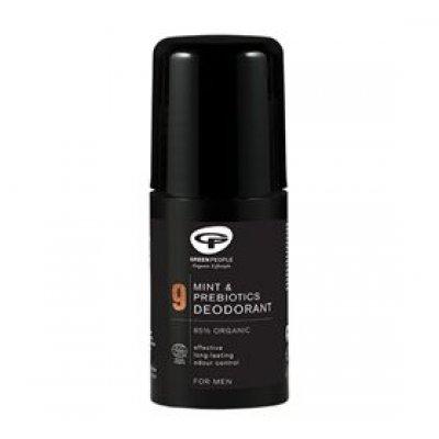 GreenPeople Deodorant No 9 mint & prebiotics • 75ml.