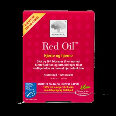 New Nordic Red Oil™ omega 3 - 120 kapsler