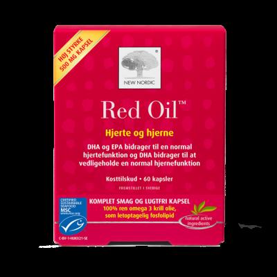 New Nordic Red Oil™ omega 3 - 60 kapsler