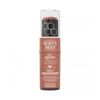 Burts Bees Duostick ALL aglow peach pond • 9g.