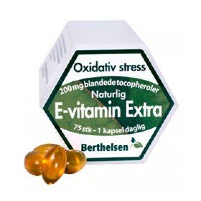 Berthelsen E-vitamin Ekstra • 75 kap.