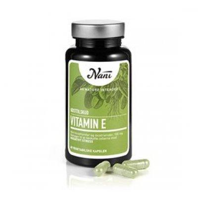 Nani E-vitamin • 60 kap.