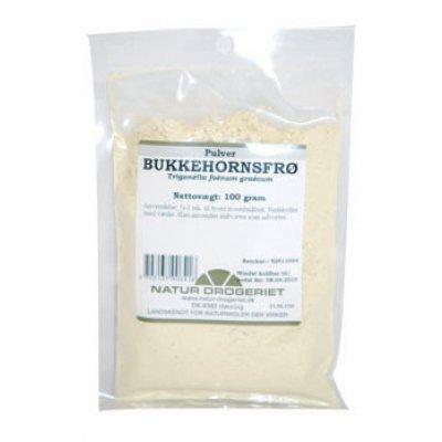 ND Bukkehornsfrø Pulver • 100 g.
