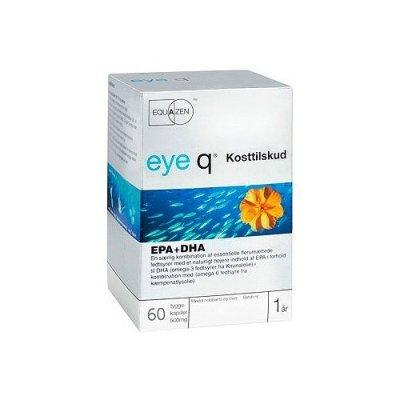 Eye Q fiskeolie EPA+DHA - 60 kaps.