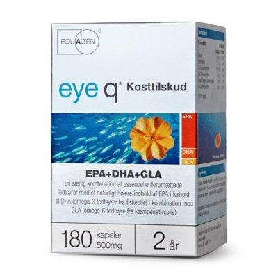 Eye Q fiskeolie EPA+DHA+GLA - 180 kaps.
