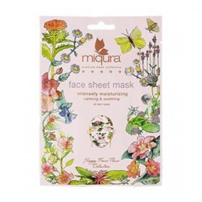 Miqura Face Sheet Mask Flower