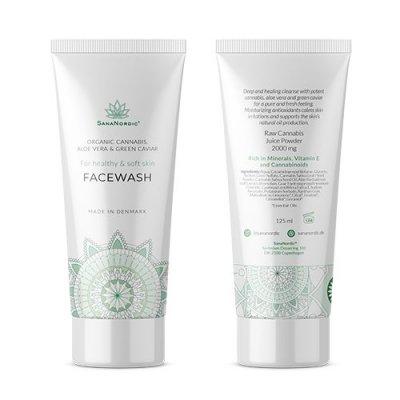Sananordic Face Wash 125 ml