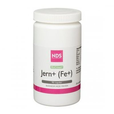 NDS Fe+ Jern tablet • 90 tab.