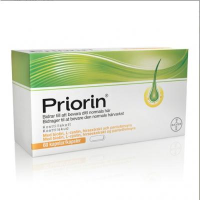 Bayer Priorin • 60 kaps.