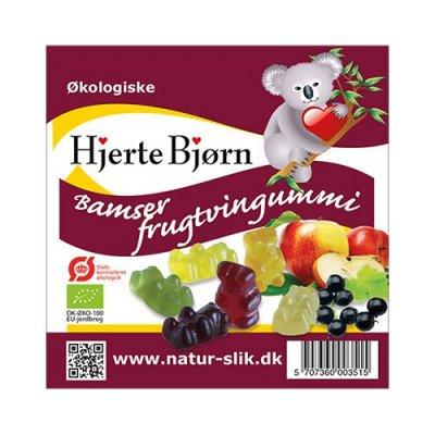 Coala Frugtsaftbamser Ø • 100 g.